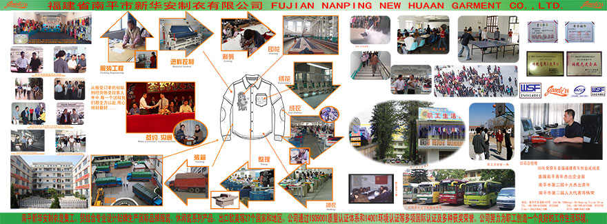 About us-Company profile-FUJIAN NANPING NEW HUAAN GARMENT CO ,LTD